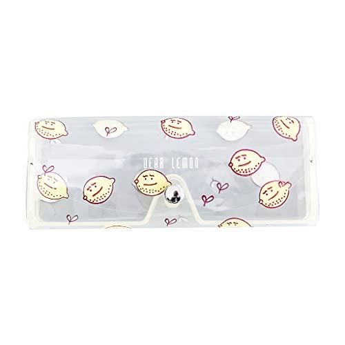 LuohuiFang - Bolsa de viaje ligera con dibujos animados para mujer, de PVC, transparente