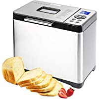 Secura Bread Maker Machine 2.2lb Stainless Steel Toaster Makers