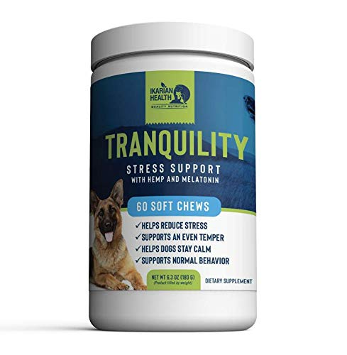 Ikarian Health - Tranquility Calming Aid for Dogs...