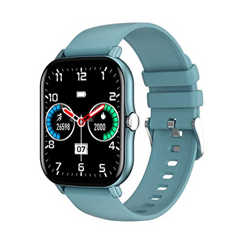 ZGNB Nuevo KT48 Smart Watch Men's Bluetooth Fitness Touch Fitness Tracker Sangre Heart Rase Tracker IP67 Waterproof Sport Watch para iOS Android,A
