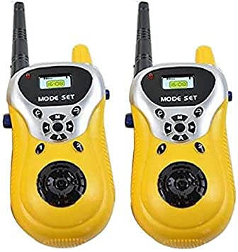 BABARIYA TOYSS World Best Plastic Walkie Talkie Toy with Range Upto 100 feet Kids Walkiiee Talkie withbest Toys and f 2 Player System Toy Interphone