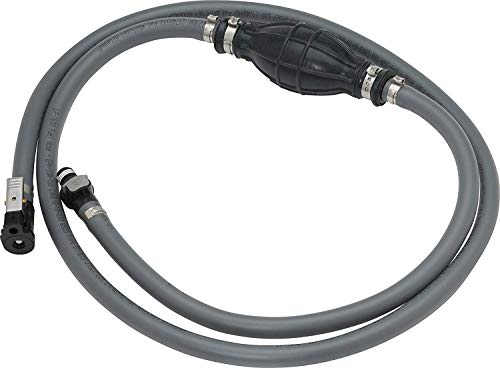 attwood 93806YUS7 Marine Boat Fuel Line Kit with Universal Sprayless Fuel Connector, 6-Foot x 3/8-Inch - Yamaha