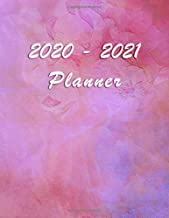 2020 - 2021 Planner: Academic and Student Daily and Monthly Planner - July 2020 - June 2021 - Organizer & Diary - To do list - Notes - Month's Focus - Fashion and Elegant Watercolor Roses
