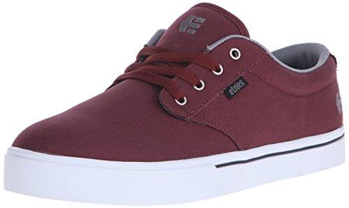 Etnies Herren Jameson 2 ECO Skateboardschuhe, Rot (RED/Grey/Black / 607), 45.5