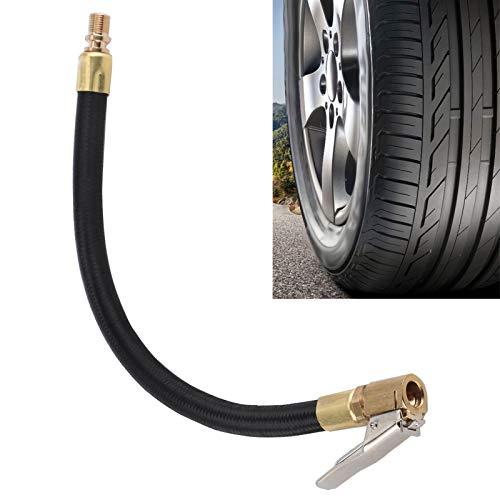Tubo de extensión de válvula para neumáticos, tubo de extensión para inflador de neumáticos, estructura robusta, portabrocas para inflado de neumáticos