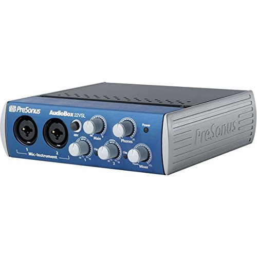 PreSonus Audiobox 22VSL USB 2.0 Recording System