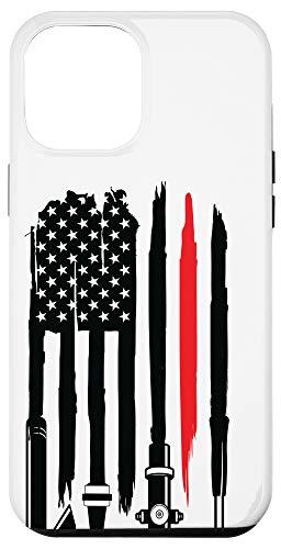 iPhone 12 Pro Max firefighter, firefighter flag, fireman, fire department Case