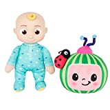 CoComelon JJ and Melon Plush Stuffed Animal Toys, 2 Pack - 8' Plush - for Ages 18 Months and up