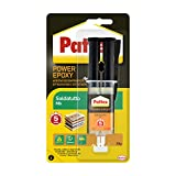 Pattex Power Epoxy Saldatutto Mix 5 minuti, forte colla epossidica bicomponente a elevata ...