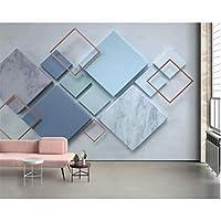 Iusasdz カスタム3D写真壁紙ステレオ高品質ダイヤモンドモザイクテレビ背景壁3D壁紙壁画3D-120X100Cm