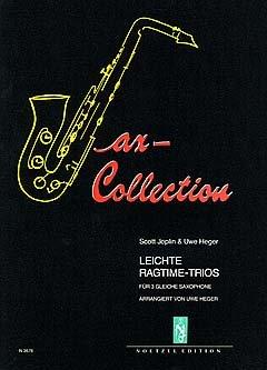Lichte RagTIME TRIOS - gearrangeerd voor drie stemmen - Saxofoon [Noten / Sheetmusic] Componis: JOPLIN SCOTT