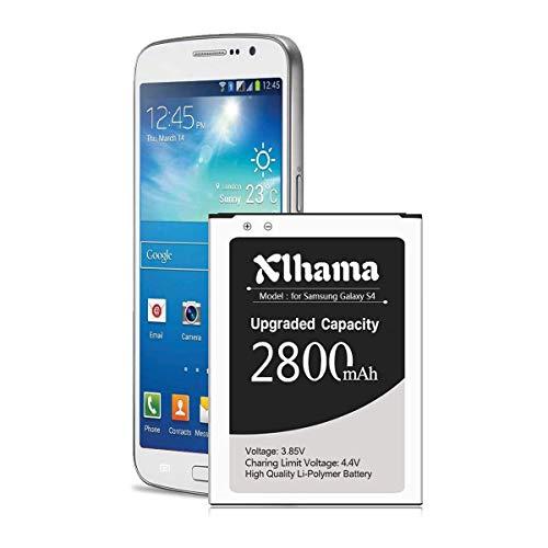 Xlhama Batería interna compatible con Samsung Galaxy S4 2650mAh Equivalente al modelo compatible con EB-B600BE Galaxy S4 I9500 I9505 Batería de iones de litio sin NFC