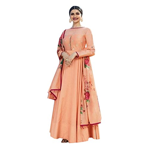 indian Bollywood Prachi desai Anarkali Salwar Kameez el desgaste de las mujeres musulmanas Último vestido de diseñador Boda de Bollywood señoras Salwar Kameez Indian Pakistani Costume 2691