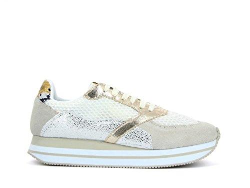 NO NAME Eden Street Sneaker, Keilabsatz, Weiß, 41