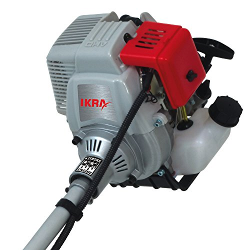 IKRA débroussailleuse thermique IBF 31-4 bobine, lame & sangle incluse