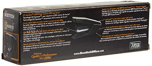 Bostitch EZ Squeeze 50 Sheet Desktop Stapler, Reduced Effort, Black (B850-BLK) Photo #13