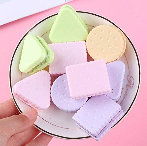 POJAP leuke Kawaii koekjes Sharpener briefpapier School Supplies, willekeurige kleur