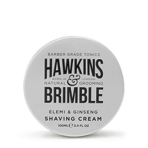 Hawkins & Brimble Rakkräm för män, 100 ml, traditionell raktvål