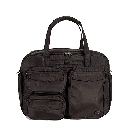 Lug Women's Puddle Jumper Duffel Bag, Brushed Black, One Size