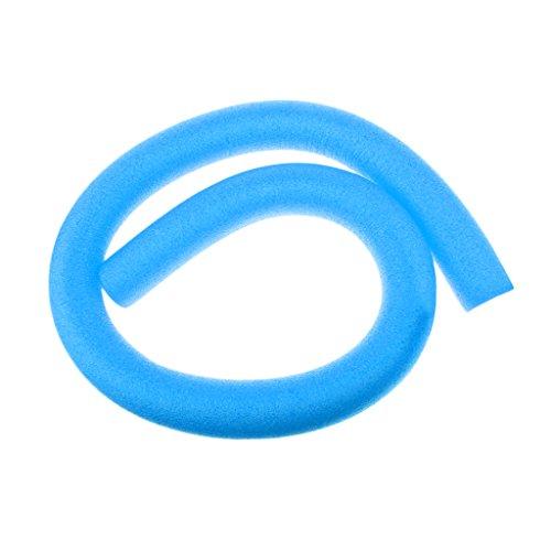 D Dolity Flexibler Swimming Pool Nudel Schaumatoff Scherzt Erwachsene Schwimmen Nudeln Schwimmenhilfe - Blau, 6 x 150 cm