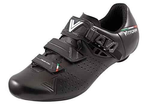 Vittoria Hera Performance Road Cycling Shoes (EU 40, Black)