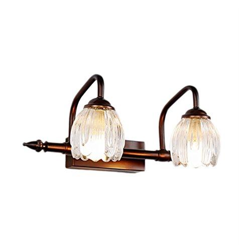 AMINSHAP Wandlamp, badkamer, lamp, slaapkamer, waterdicht, spiegelfront, kastlamp, modieus, eenvoudige kristal, make-up lamp, wandlamp