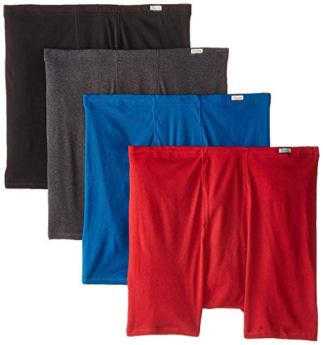 Hanes-Mens-4-Pack-Comfortsoft-Extended-Sizes-Boxer-Briefs