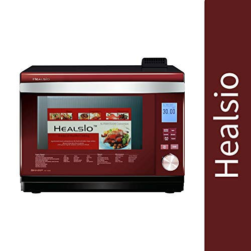 Sharp Healsio Super-Heated Steam Oven for Baking, Grilling, Heating, Roasting | Multi-Function...