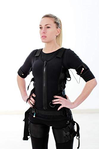 Chaleco DE ELECTROESTIMULACION Muscular, Traje ELECTROESTIMULACION, COMPATIBILIDAD MULTIMARCA E-FIT, X-Body, I-Motion, MIHA BODYTEC. Chaleco EMS Unisex. Talla S