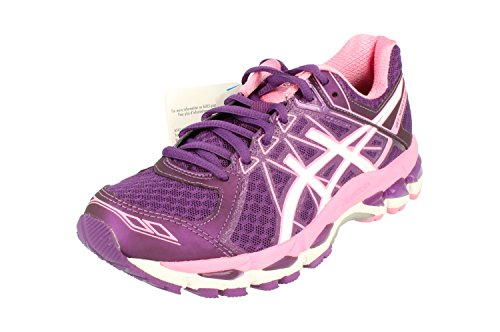 ASICS Gel-Surveyor 4 Damen Running T5C9N Sneakers Turnschuhe (UK 4 US 6 EU 37, Purple White Flamingo 3301)