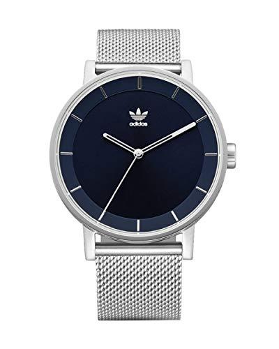 Adidas Herren Analog Quarz Smart Watch Armbanduhr mit Edelstahl Armband Z04-2928-00