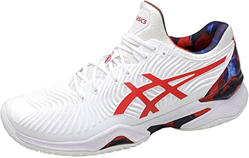 ASICS Court FF Novak L.E, Scarpe da Tennis Uomo, White/Classic Red, 39.5 EU