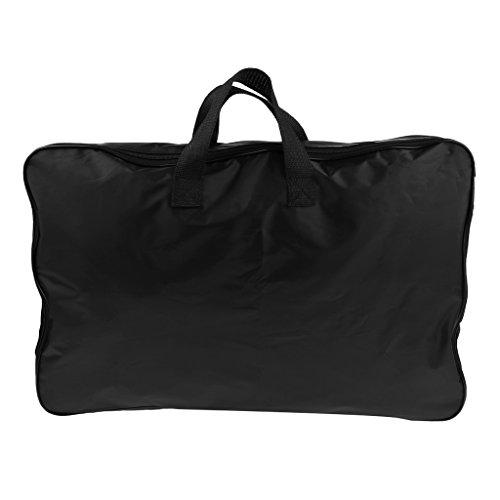 Homyl Notenständer Tasche Mit einem Griff - Schwarz 60cm x 38,5 cm