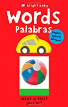Bright Baby Words/Palabras: English-Spanish (Slide and Find)