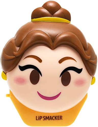 Lip Smacker Disney Emoji Lip Balm, Belle, Last Rose Petal , 0.26 ounce
