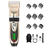 Nicewell Hair Clippers Cordless Hair Trimmer USB Rechargeable Home Haircut & Grooming Kit for Men Kids with Hairdressing Cape