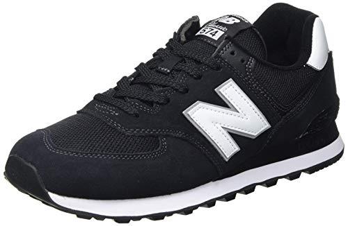 New Balance 574 Core, Zapatillas Hombre, Black, 44 EU
