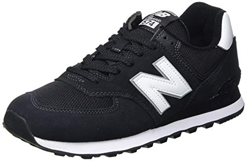 New Balance 574 Core Plus Pack, Zapatillas Hombre, Negro (Black), 44.5 EU