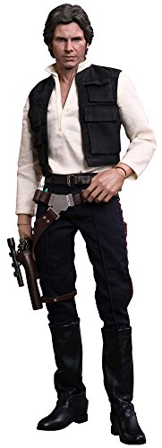 Hot Toys Movie Masterpiece Star Wars A New Hope Han Solo Sixth Scale Action Figure