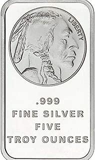 one troy ounce 999 fine silver buffalo coin