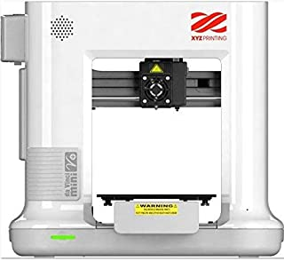 XYZプリンティング 3Dプリンター [ダヴィンチmini w+ホワイト] Wifi接続OK 組立済み完成品 オートキャリブレーション機能付き 8kg以下の小型ボディ 造形サイズ150×150×150mm 3FM3WXJP00H