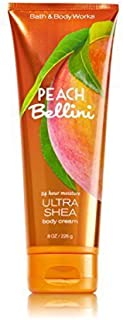Bath and Body Works Ultra Shea Cream Peach Bellini 8 Ounce Full Size
