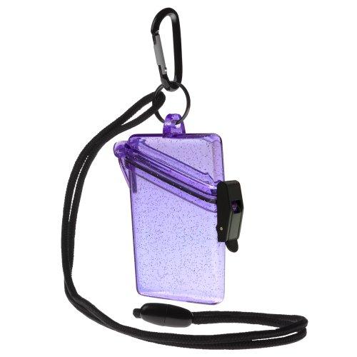 Witz 04009-Purple Glitter Box 3 Waterproof Case