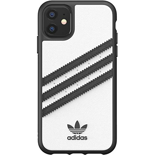 adidas Originals Moulded Case Samba Weiß/Schwarz für das iPhone 11