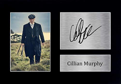 HWC Trading Cillian Murphy A4 Ungerahmt Signiert Gedruckt Autogramme Bild Druck-Fotoanzeige Geschenk Für Peaky Blinders Tv-Show-Fans