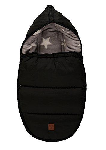 Kaiser Hoody Fußsack für Belagerung von Baby Starprint/schwarz