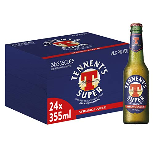 Tennent's Super Birra - Pacco da 24 x 355 ml