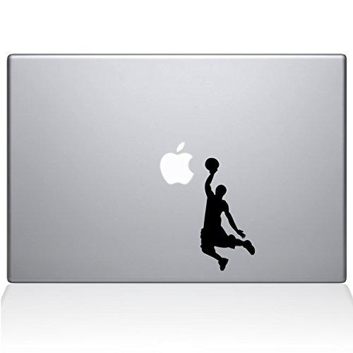 Adesivo de vinil The Decal Guru Slam Dunk MacBook – MacBook Pro de 13 polegadas (2016 e mais recente) – Preto (1173-MAC-13X-BLA)