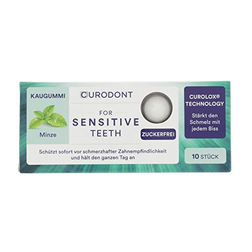 CURODONT - for sensitive teeth - Kaugummi
