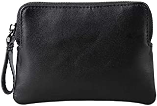 Wallet for Men Fmeida Leather Coin Purse Change Card Holder- Birthday Gift (Black)